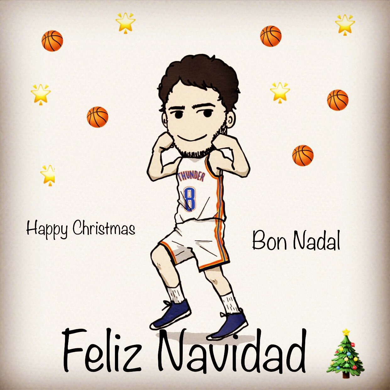 Feliz Navidad, Bon Nadal and Merry Christmas