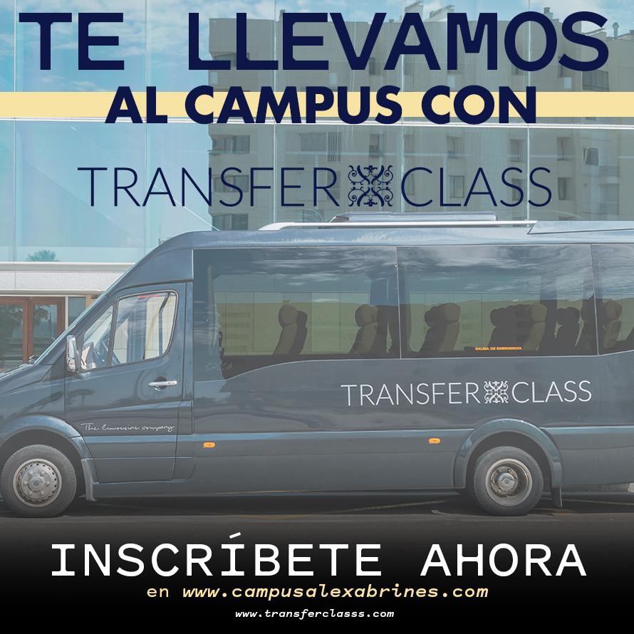 Te llevamos al Campus con Transferclass